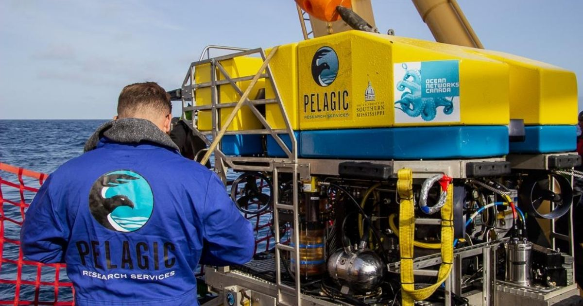 Pelagic Research Services to Provide ROV Services for ONC