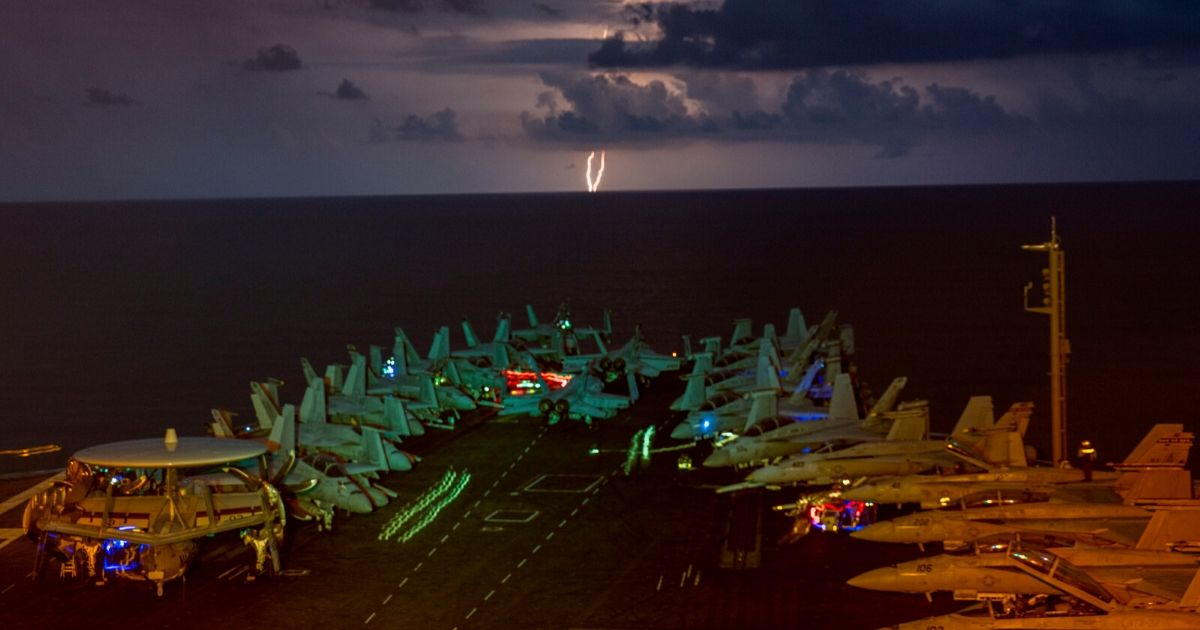 Dual Carrier Strike Groups Reinforce U.S. Commitment to Freedom
