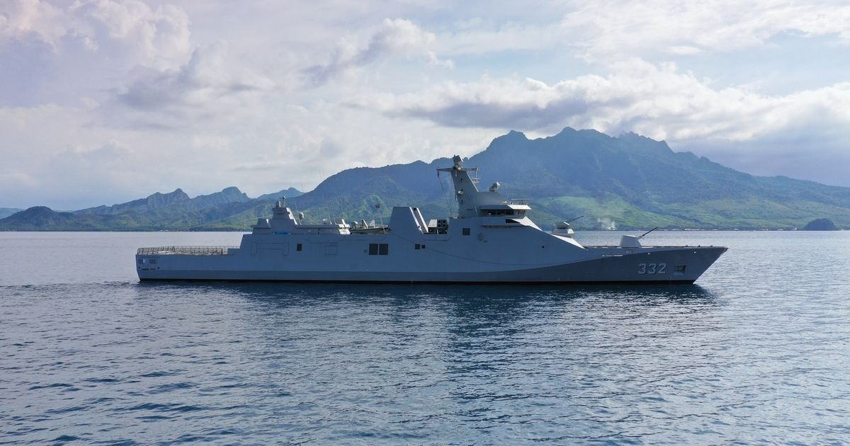 Damen Completes Combat Systems Installation on Guided Missile Frigate