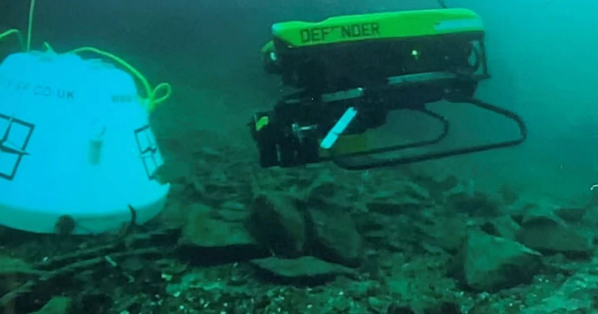 ECS Special Projects Develops Viper Mine Disposal System for VideoRay ROV