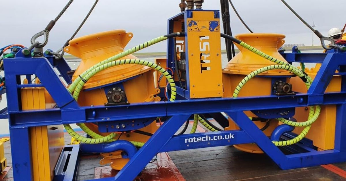 Rotech Subsea Closes 2019 with Major North Sea Deburial Scope
