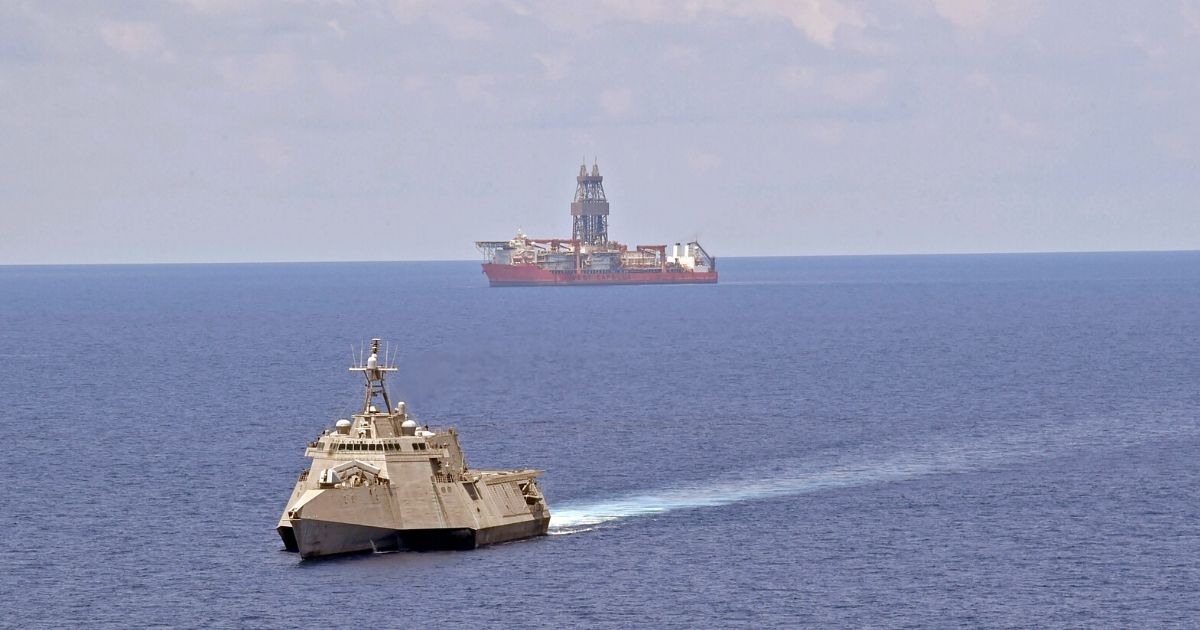 U.S. Navy Maintains Persistent Presence Near West Capella Drill Ship