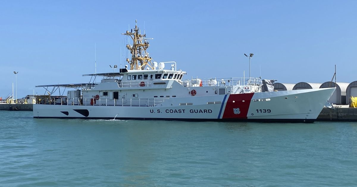 Bollinger Delivers First of Three USCG FRCs to be Home-Ported in Guam