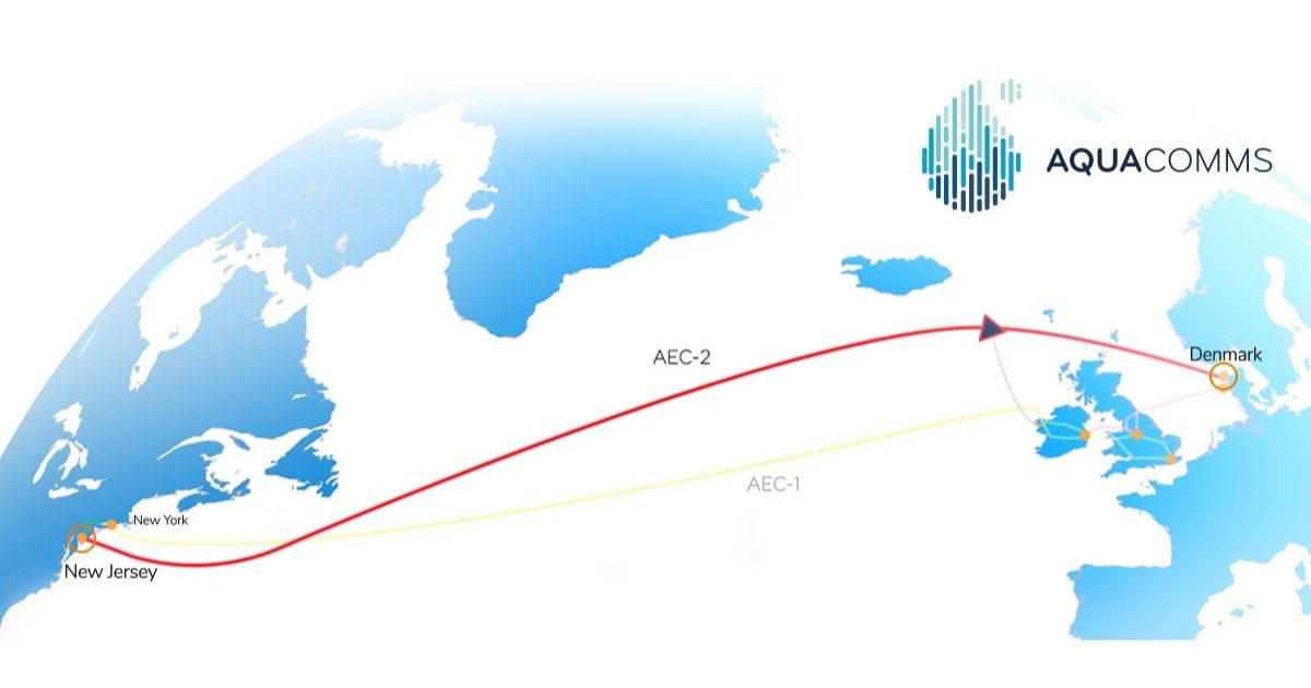 Aqua Comms Launches Second Trans-Atlantic Subsea Cable System