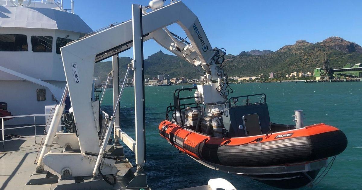 Vestdavit to Supply Boat Davit Systems for French Navy Vessels