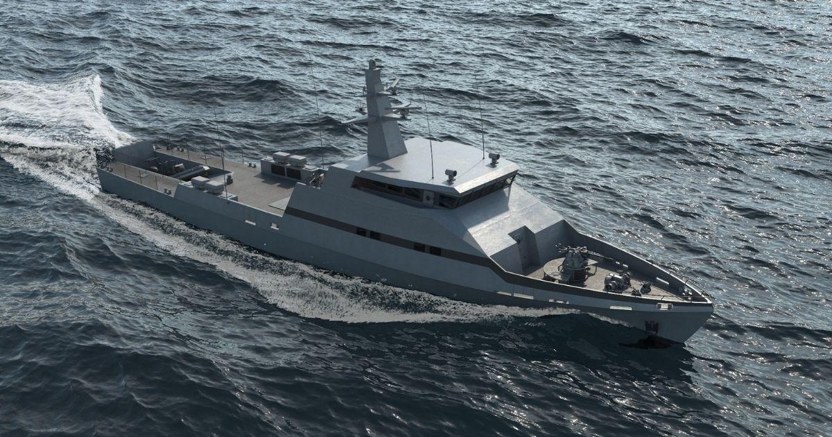 Israel Shipyards Chooses Dual MAN 175D Units for OPV-45 Design