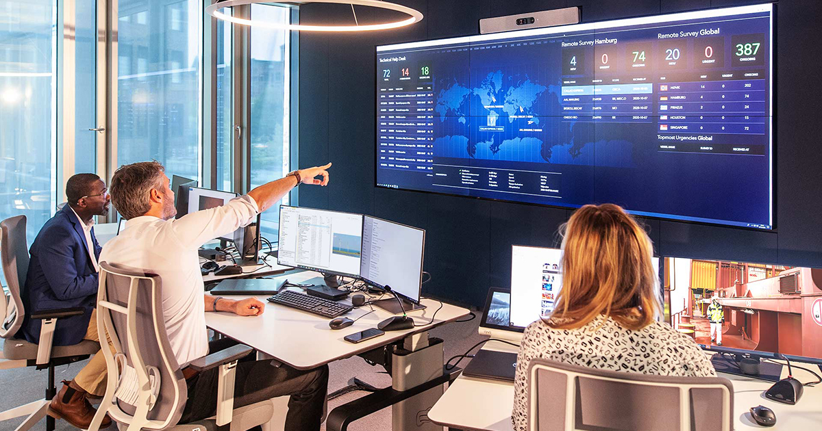 DNV GL-Maritime: 20,000 Remote Surveys Delivered and New Operational Center Launched