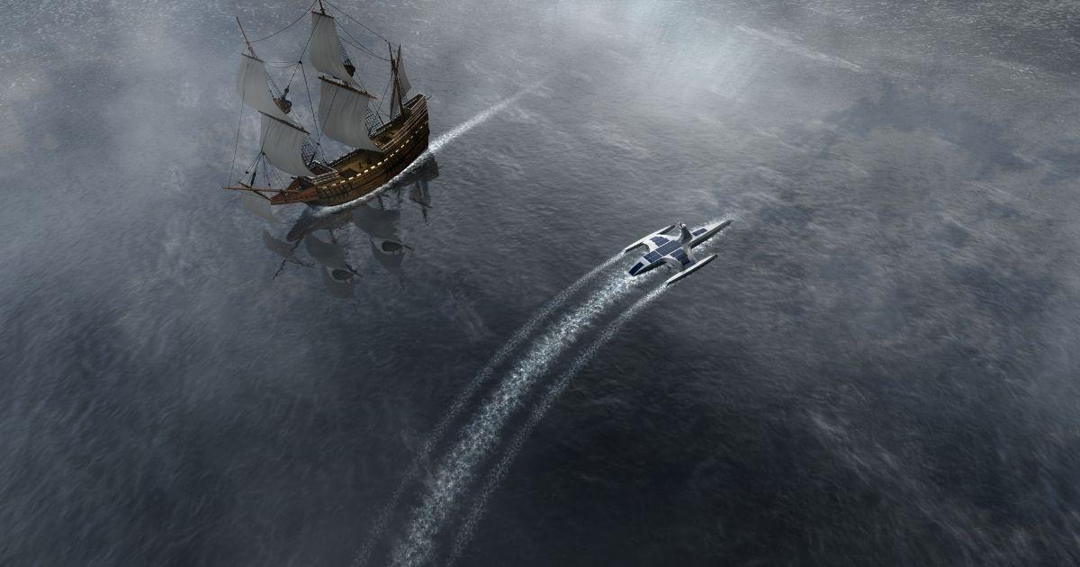 Mayflower Autonomous Ship Launches