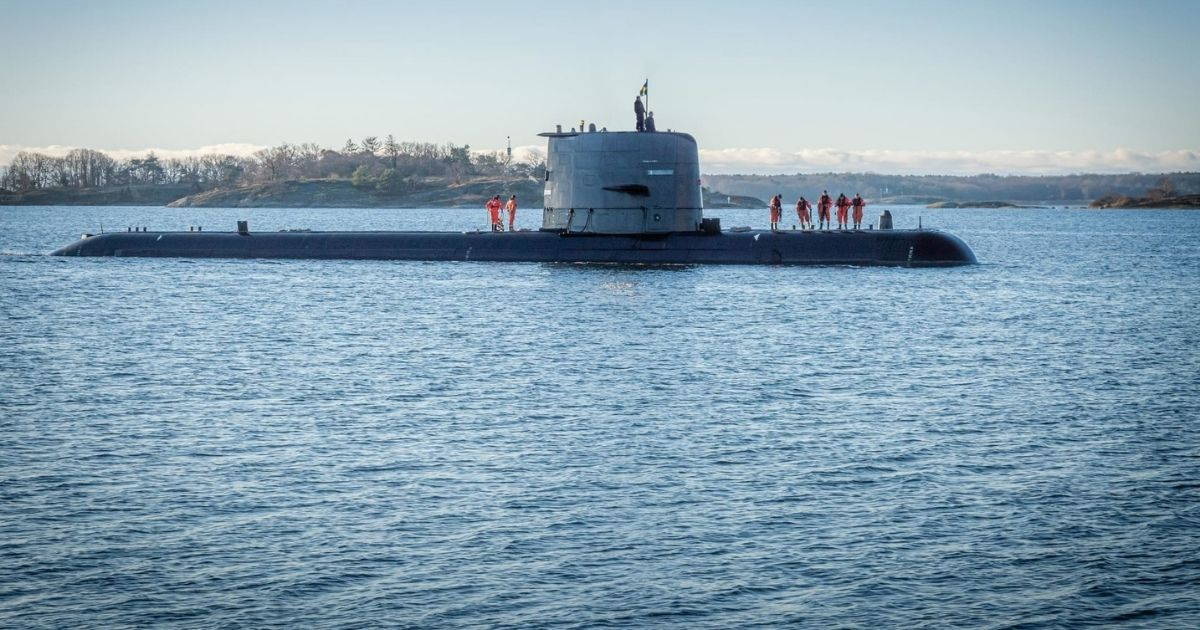 Saab Delivers Upgrade Gotland-Class Submarine to Sweden