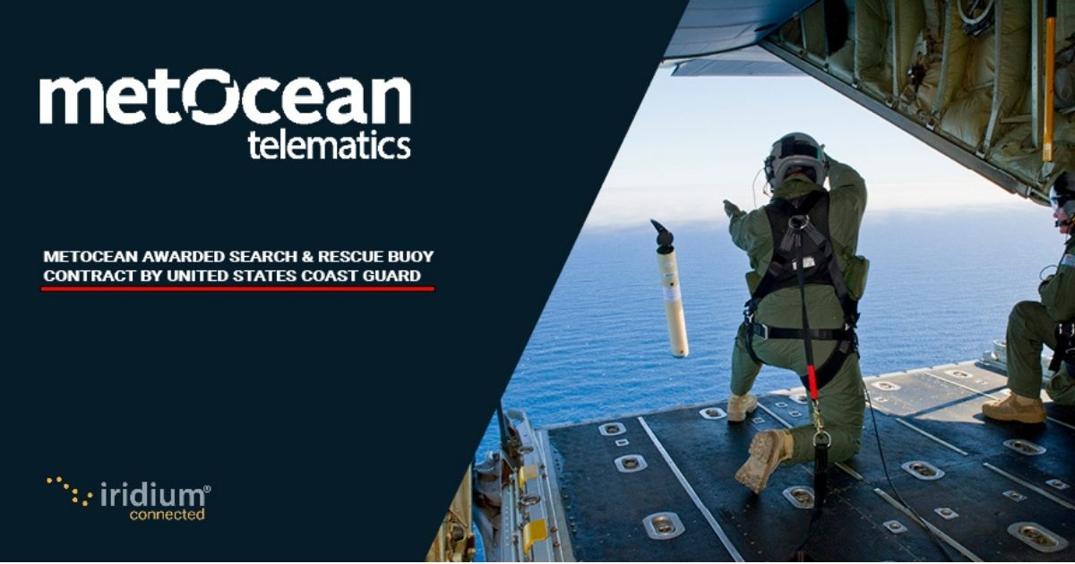 MetOcean to Supply USCG with Search & Rescue Smart-Buoy