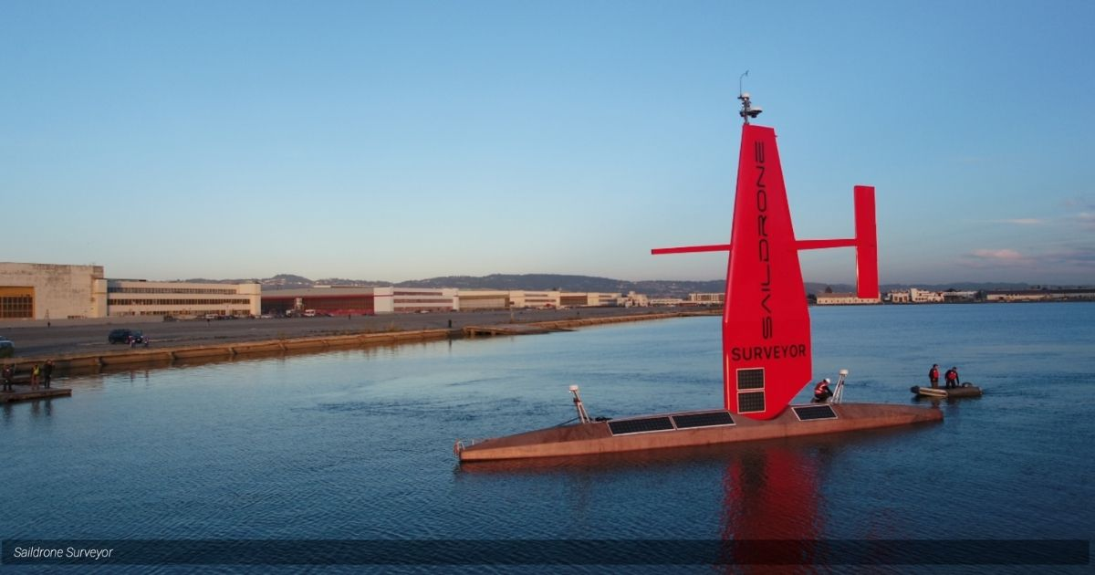 72-Foot Saildrone Surveyor Revolutionizing our Oceans