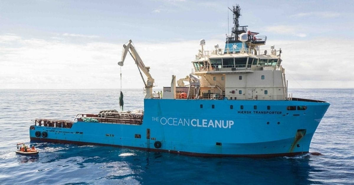 A.P. Moller- Maersk and The Ocean Cleanup Extend Relationship