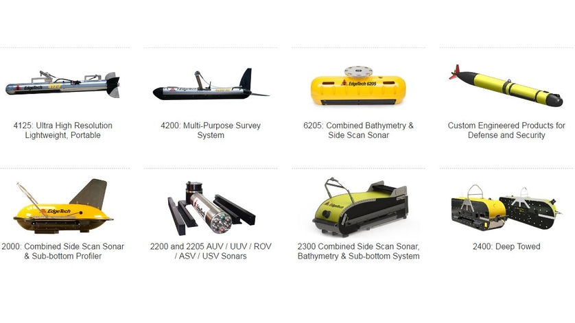 EdgeTech Side Scan Sonar