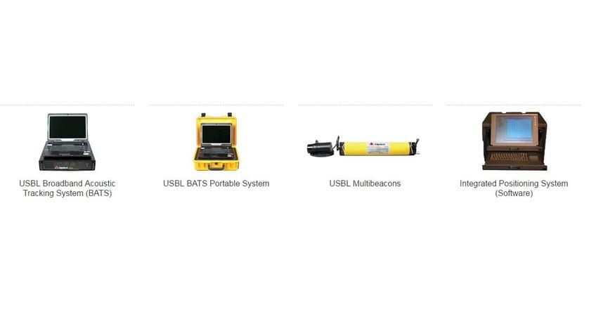 EdgeTech USBL Navigation and Positioning, MRU