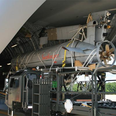 ISE DORADO Semi-Submersible Minehunting Vehicle