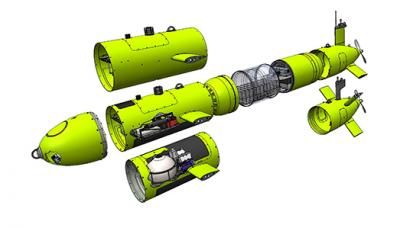 ISE EXPLORER Autonomous Underwater Vehicle (AUV)